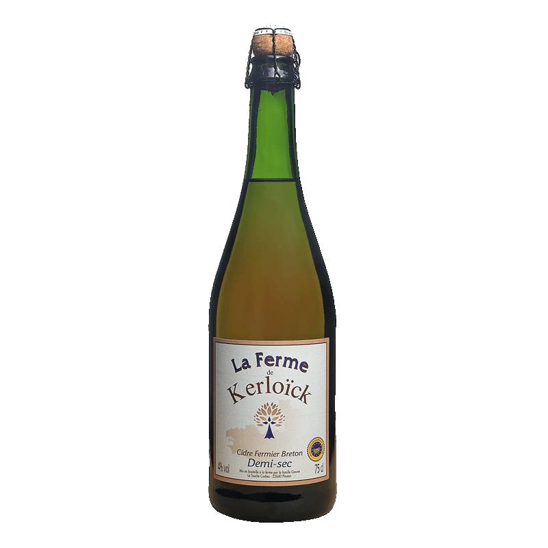 Cidre Demi-Sec - La Ferme de Kerloïck 75cL