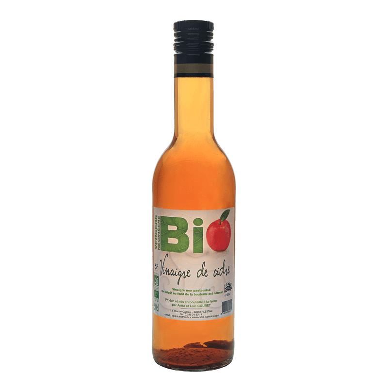 Vinaigre de cidre Biologique Vergers Réginéens 50cL