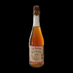 Cidre Rosé Biologique - La Ferme de Kerloïck 75cL