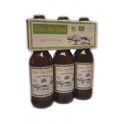 Cidre Doux Biologique - Vergers Réginéens 3x33cL
